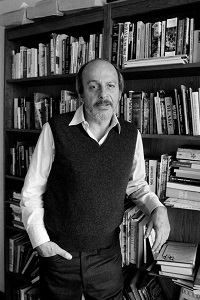 The author E.L. Doctorow in New York.