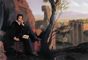 Shelley_Writing_Prometheus_Unbound_1845