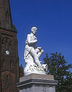 Robert-Burns-Statue--Dumfries