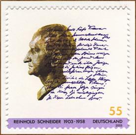 reinhold-schneider-briefmark