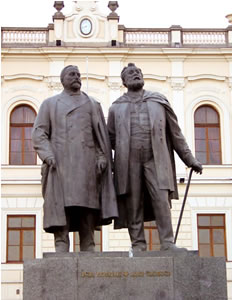 Tschawtschawadse_-_Zereteli_Monument_Tbilissi